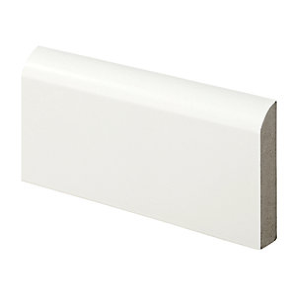 Wickes Bullnose Fully Finished Architrave - 14.5mm x 69mm x 2.1m Pack of 5