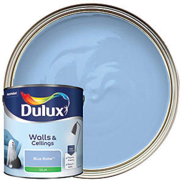 Dulux Silk Emulsion Paint - Blue Babe 2.5L