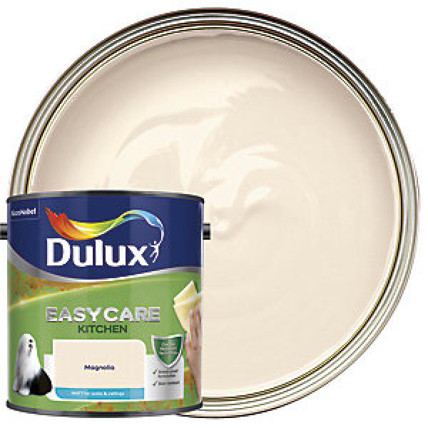 Dulux Easycare Kitchen Matt Emulsion Paint - Magnolia 2.5L