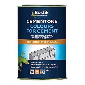 Bostik Cementone Cement & Mortar Dye - Buff 1kg