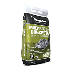 Hanson Multi-Purpose Ready-Mixed Concrete Maxi Bag - 20kg