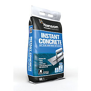 Hanson Instant Ready-Mixed Concrete Maxi Bag - 20kg