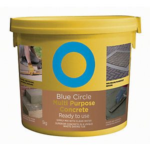Blue Circle Multipurpose Ready To Use Concrete Tub - 5kg