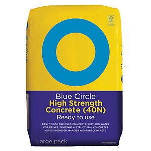 Blue Circle High Strength Ready To Use Concrete (40N) - 20kg
