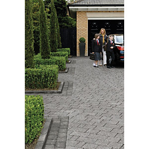 Marshalls Drivesett Textured Kerb Stone - Pennant Grey 120 x 240 x 80mm Pack of 192