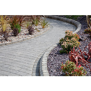 Marshalls Tegula Splayed Kerb Stone - Traditional 130mm Pack of 120