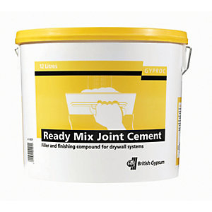 Gyproc Ready Mixed Joint Cement - 12L