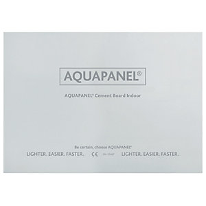 Knauf New Aquapanel Board - 12.5mm x 900mm x 1.2m
