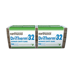 Knauf Earthwool DriTherm 32 Ultimate Cavity Wall Insulation