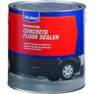 Wickes Concrete Floor Sealer - Clear 2.5L