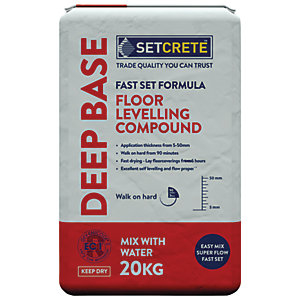 Setcrete Deep Base Floor Levelling Compound - 20kg
