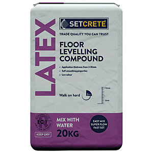 Setcrete Latex Floor Levelling Compound - 20kg