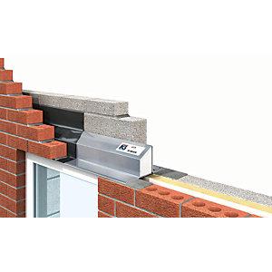 IG Ltd 75-90mm Steel Cavity Wall Lintel - 2100mm