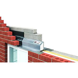 IG Ltd 95-100mm Steel Cavity Wall Lintel - 2100mm