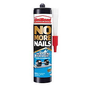 UniBond No More Nails Waterproof Cartridge - 300ml