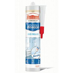 UniBond Anti-Mould Silicone Sealant - Ivory 300ml