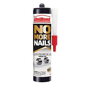 UniBond No More Nails Invisible Cartridge - 300ml