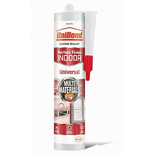 UniBond Universal Silicone Sealant - White 300ml