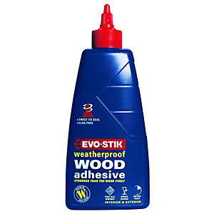 Evo-Stik Resin Weatherproof Wood Adhesive - 1L