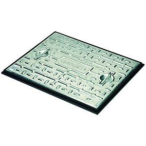 Clark-Drain 5 Ton Steel Manhole Cover & Frame - 450 x 600