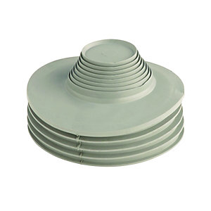 Multikwik MKUAG Drain & Waste Adaptor - Grey