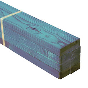 Wickes Treated Timber Roof Batten - 25 x 50 x 4800 mm Pack of 8