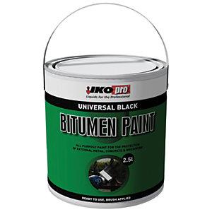 Ikopro Bitumen Paint - Black 2.5L
