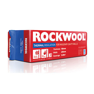 Rockwool Thermal Insulation Cavity Slab - 1.2m x 455mm