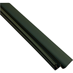 Wickes Universal Edge Flashing for Polycarbonate Sheets - Brown 4m