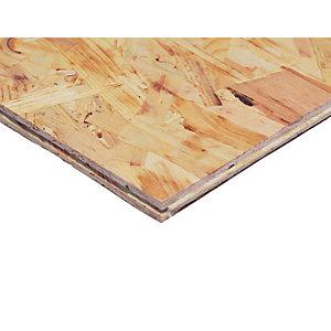Wickes TG4 Roof & Flooring OSB3 Board - 18mm x 600mm x 2400mm