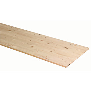 Wickes General Purpose Timberboard - 18mm x 200mm x 1150mm