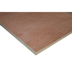 Wickes Non Structural Hardwood Plywood - 18mm x 606mm x 1220mm