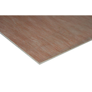 Wickes Non Structural Hardwood Plywood - 5.5mm x 607mm x 2440mm