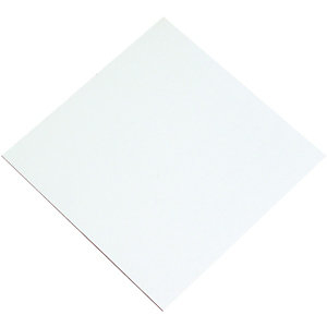 Wickes General Purpose White Faced Hardboard - 3mm x 610mm x 1220mm