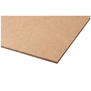 Wickes General Purpose Hardboard - 3mm x 1220mm x 2440mm
