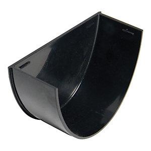 FloPlast REH2B High Capacity Gutter Internal Stopend - Black