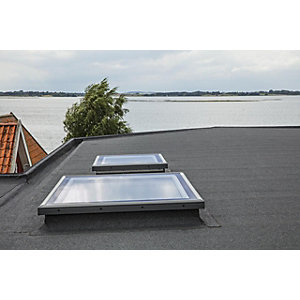 Velux Flat Roof Flat Glass Cover 600 x 900mm