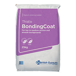 British Gypsum Thistle Bonding Coat Plaster - 25kg