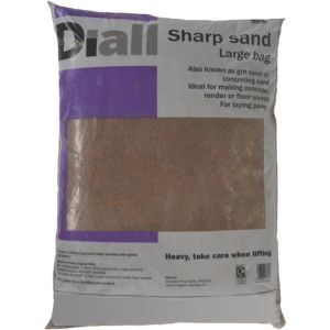 Diall Sharp sand Large bag
