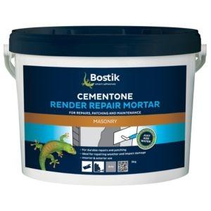 Bostik Cementone Render repair mortar 5kg Tub