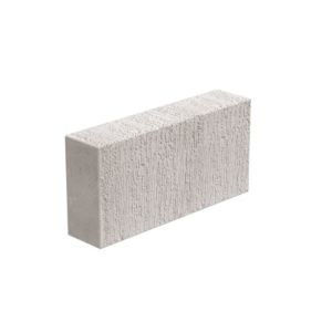 Toplite Grey Aerated concrete Block (H)215mm (W)100mm (L)440mm