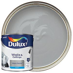 Dulux Matt Emulsion Paint - Warm Pewter 2.5L