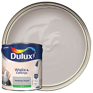Dulux Silk Emulsion Paint - Perfectly Taupe 2.5L