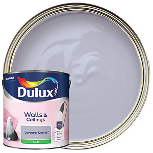 Dulux Silk Emulsion Paint - Lavender Quartz 2.5L