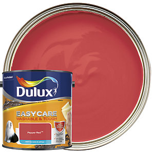 Dulux Easycare Washable & Tough Matt Emulsion Paint - Pepper Red 2.5L