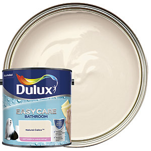 Dulux Easycare Bathroom Soft Sheen Emulsion Paint - Natural Calico 2.5L