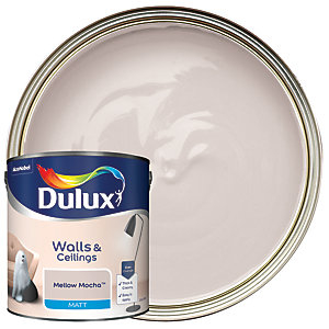 Dulux Matt Emulsion Paint - Mellow Mocha 2.5L