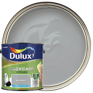 Dulux Easycare Kitchen Matt Emulsion Paint - Warm Pewter 2.5L