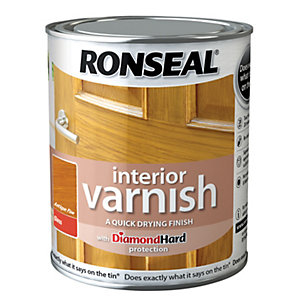 Ronseal Interior Varnish - Gloss Antique Pine 750ml