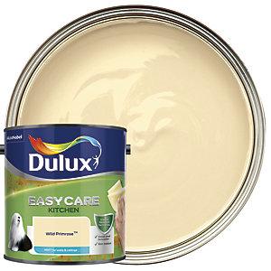 Dulux Easycare Kitchen Matt Emulsion Paint - Wild Primrose 2.5L